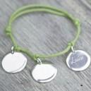 Bracelet médaille à composer