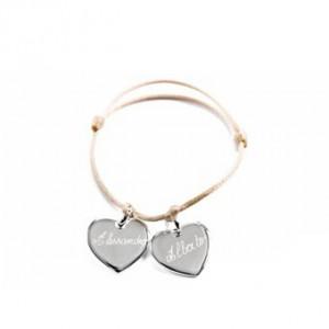 Bracelet coeur à composer