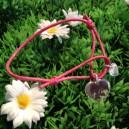 Bracelet grand et petit coeur