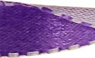 Réversible violet foncé/violet pâle