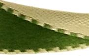 Réversible vert foncé/beige