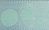 Bleu clair à ronds bleus